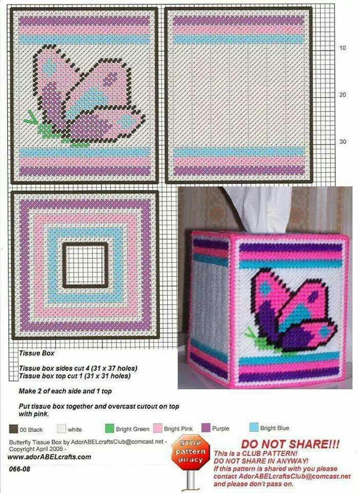 Crazy image inside free printable plastic canvas tissue box patterns