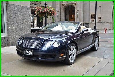 Bentley Continental Gt Gtc Convertible 2 Door Bentley Bentley Continental Gt Convertible
