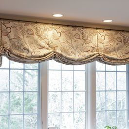 Custom Window Treatments by Heather Rabold at Sh window treatments