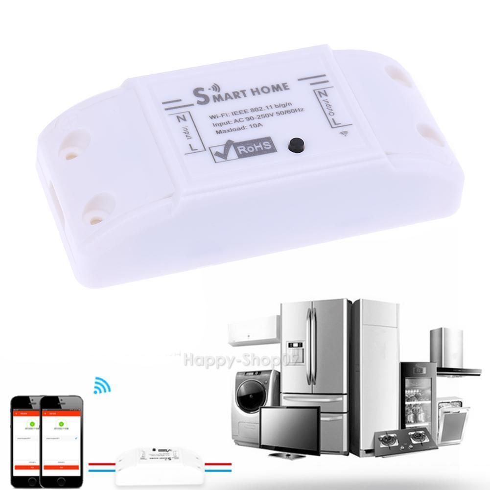 $7.9 - Wireless Wi-Fi Smart Phone App Remote Control Home Automation ...