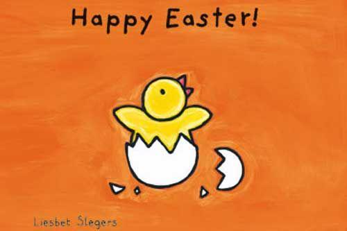 Happy Easter! by Liesbet Sleger #kidlit