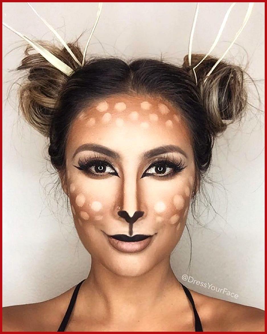 Reh Kostum Selber Machen Halloween Makeup Easy Deer Costume Halloween Makeup Looks