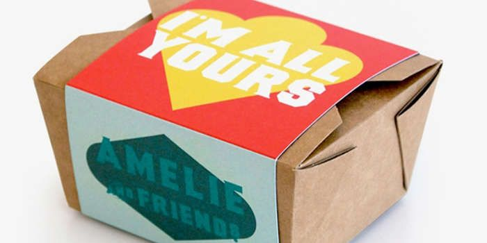 Friendly Food Packaging : Amelie and Friends