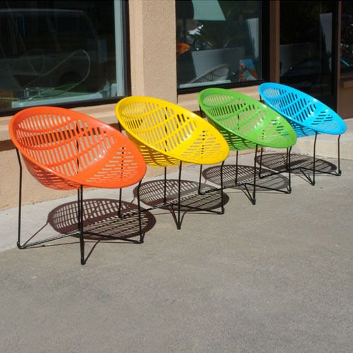 Patio Pop Neon Accents For Outdoor Rooms Contemporary Outdoor Furniture Outdoor Chairs Modern Outdoor Chairs