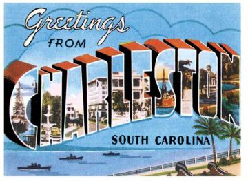 Vintage Charleston Sc Postcards Google Search City Postcard
