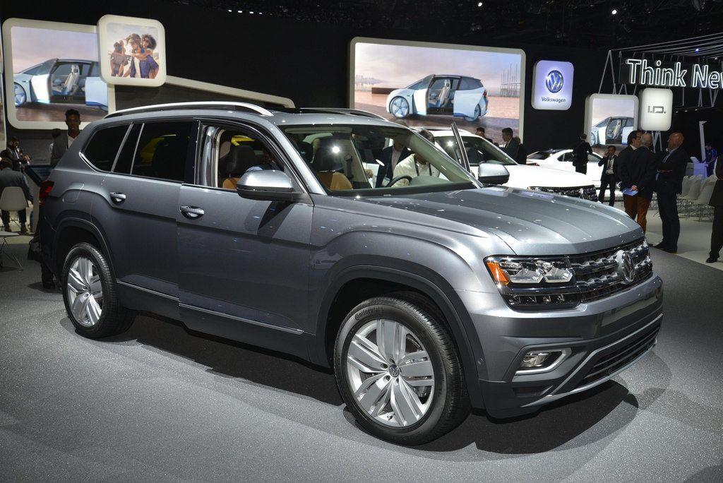 2018 Volkswagen Atlas live photos 2016 LA Auto Show