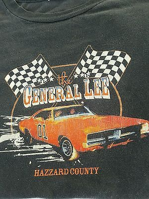 NEW DUKES OF HAZZARD GENERAL LEE T-SHIRT SIZES FROM MED 3XL