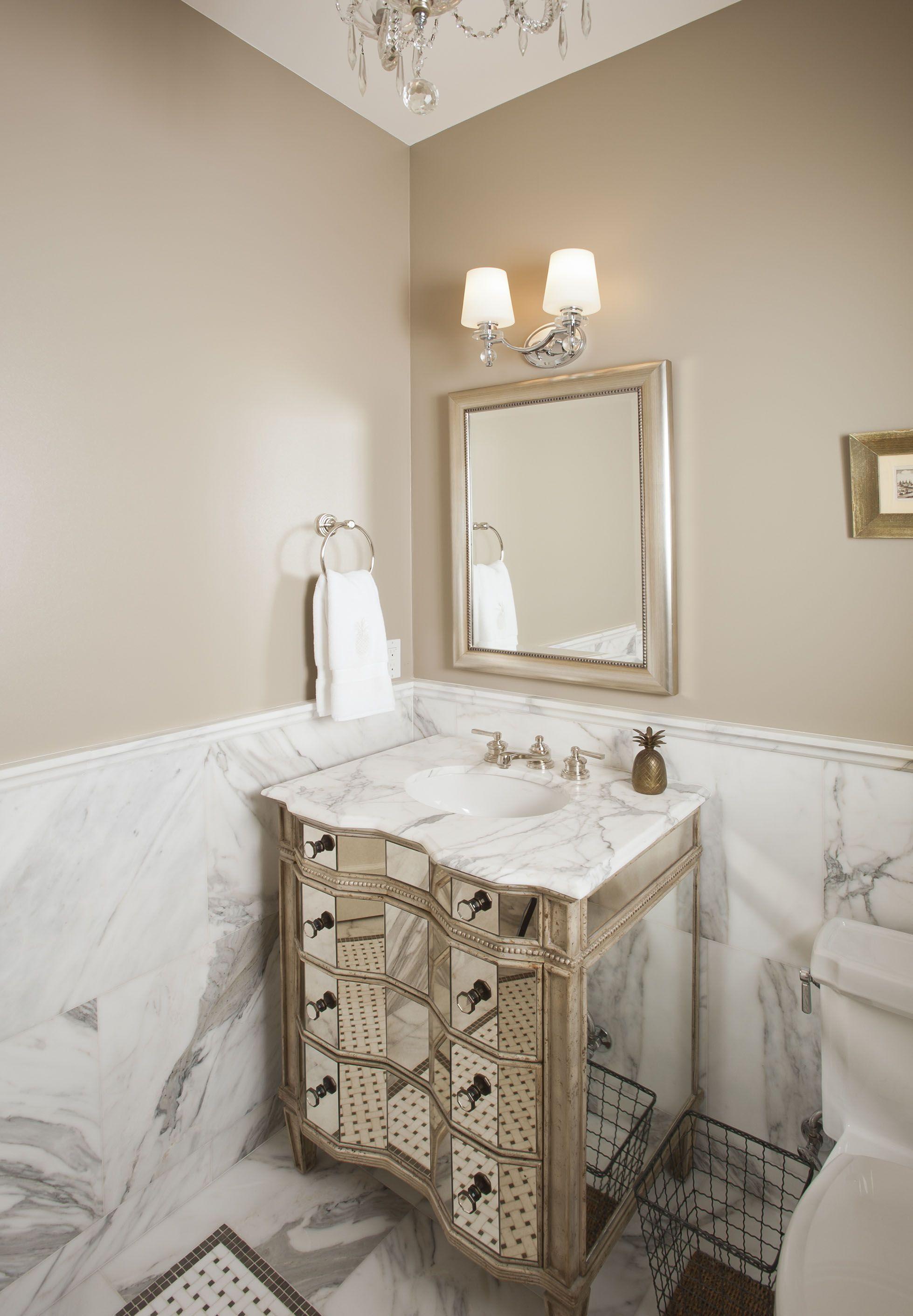 Custom Home Build Powder Room Bathroom Color Schemes Paint For Kitchen Walls Beige Bathroom