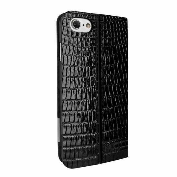 8d0bb650d4d Piel Frama 762 Black Lizard FramaSlimCards Leather Case for Apple iPhone 7  / 8 - Cases.com