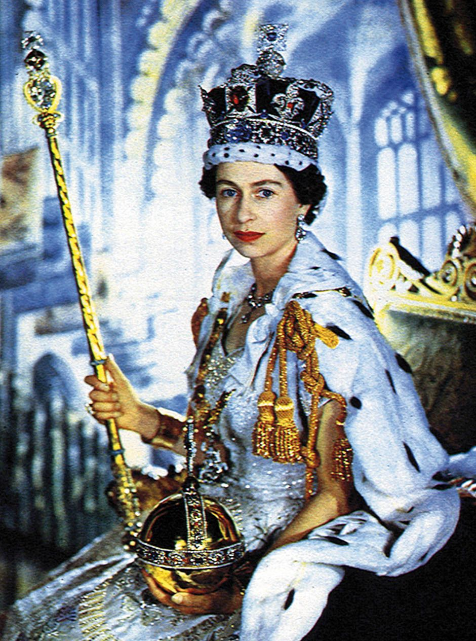 June 2,1953 Coronation of Queen Elizabeth II.On June 2