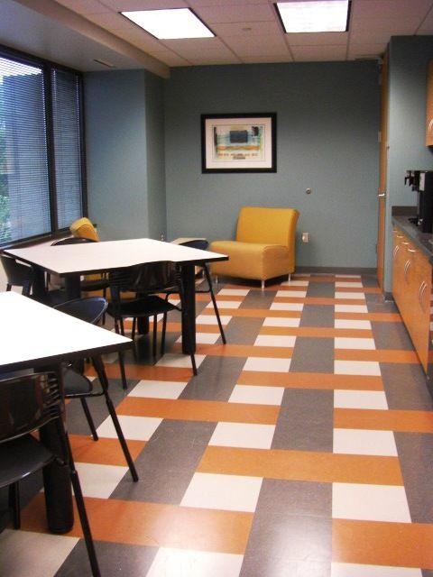 Office Break Room Vinyl Tile Designs Pinterest Floor