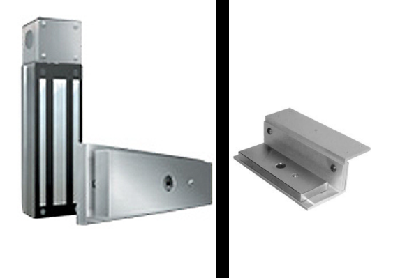 Mag Lock And Lz Bracket Package Mag Lock Bracket Gate Operators