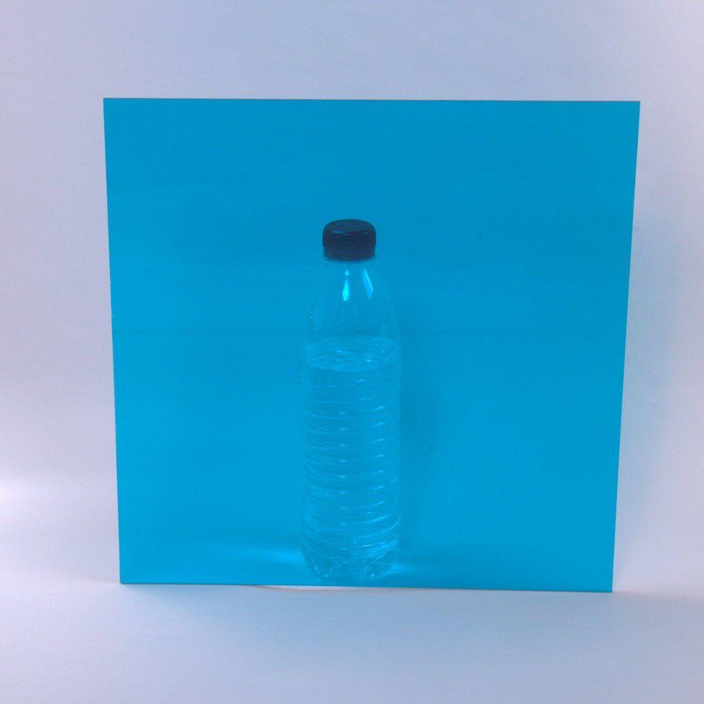 12 X12 Sky Blue Acrylic Sheet With Transparent Light Blue Decorative Film 1 8 Inch Thick Plexiglass Sheeting Presentatio Decorative Film Acrylic Sheets Bottle