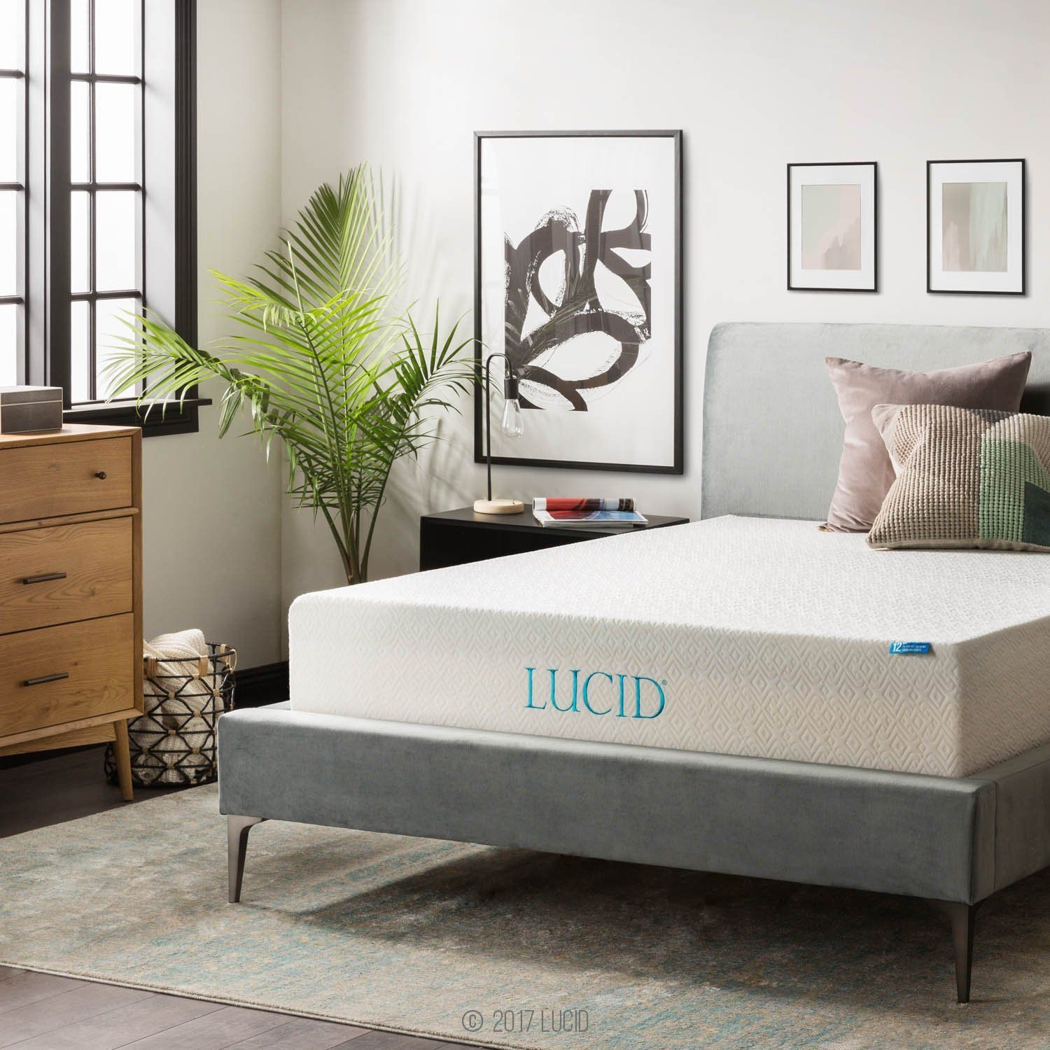 Lucid 12 Inch Memory Foam Mattress Review Soft With Low Budget