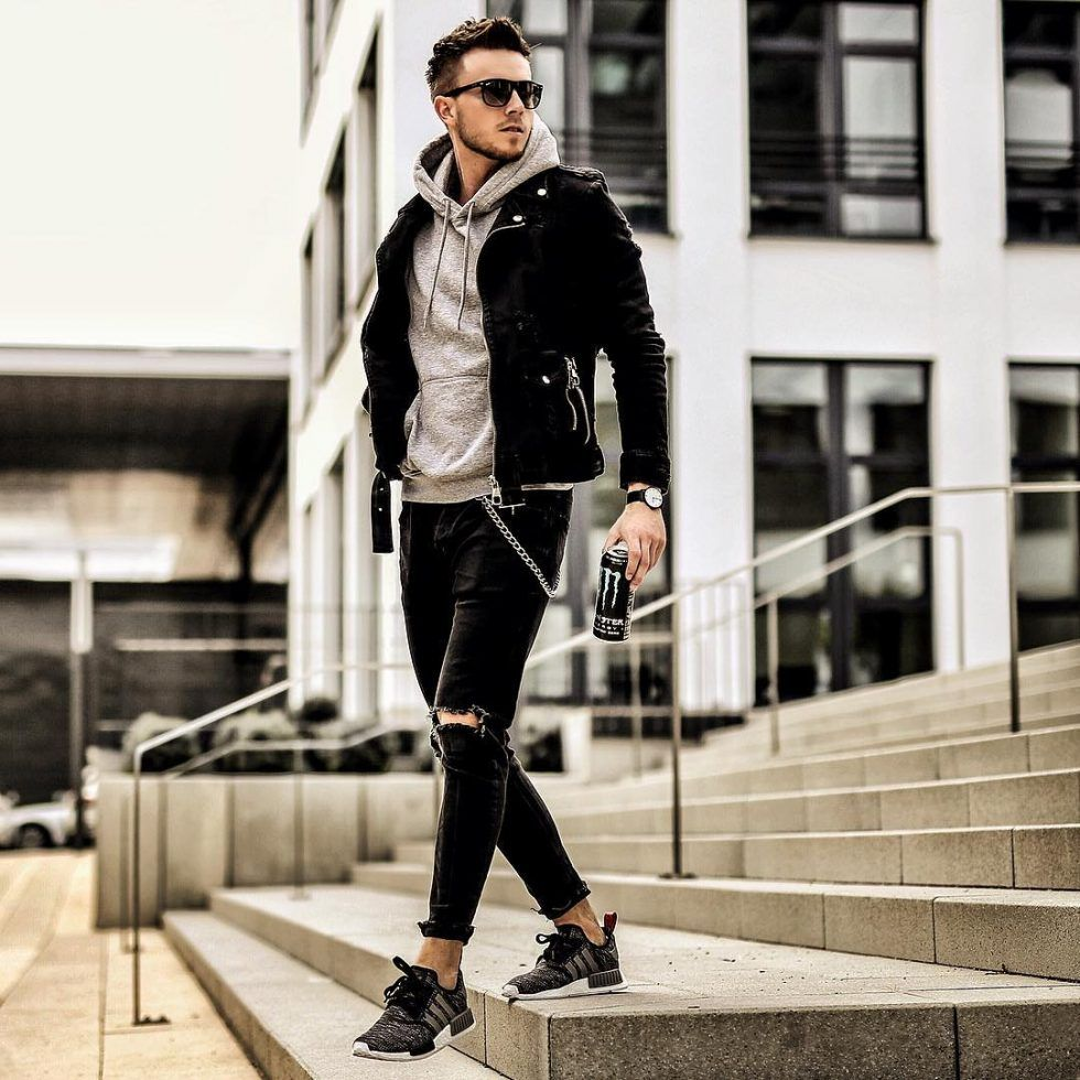 ea4c790a9727 Mens Fall Fashion Trends of 2018 on How To Wear Fall Leather Jackets ...