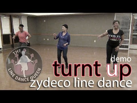 TurntUp Zydeco Line Dance (Demo) w/ Loud by Chris Ardoin - YouTube