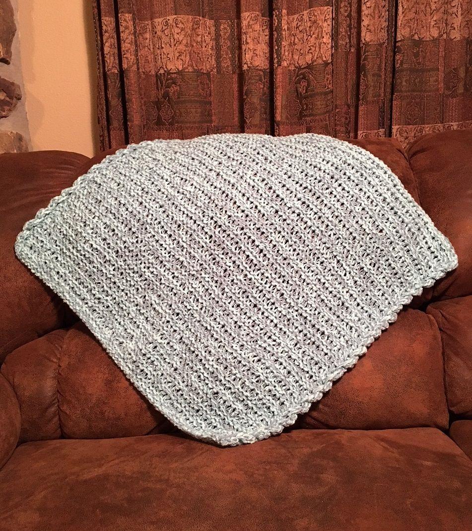 Mountain Brook Baby Blanket pattern by Dayna Scoles   Blanket, Loom ...