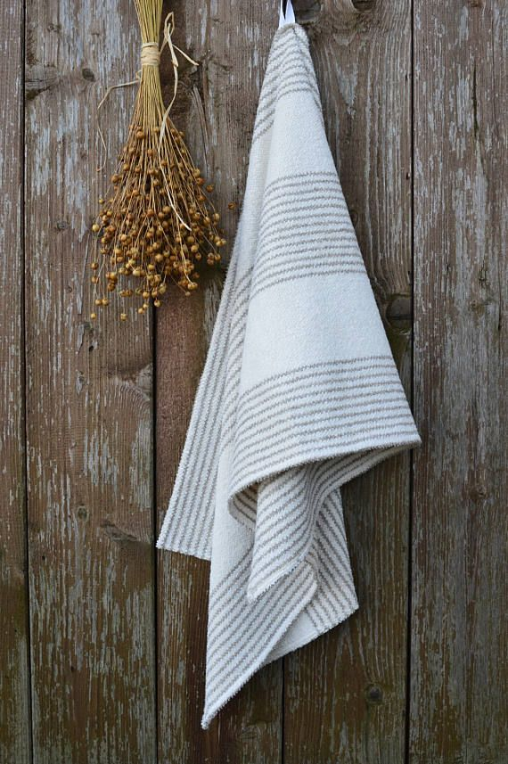 Bathroom Towels, Linen Towel, Linen Bath Towel, Cotton Towel, Guest Towels, Bathroom  Hand Towels, Natural Linen, Bathroom Accessories