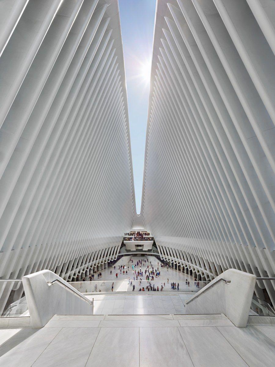 Santiago Calatrava Explains How He Designed Ground Zero S Oculus