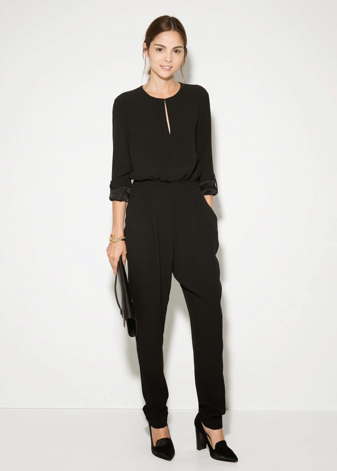 2ca02928e2c Modest jumpsuit with sleeves