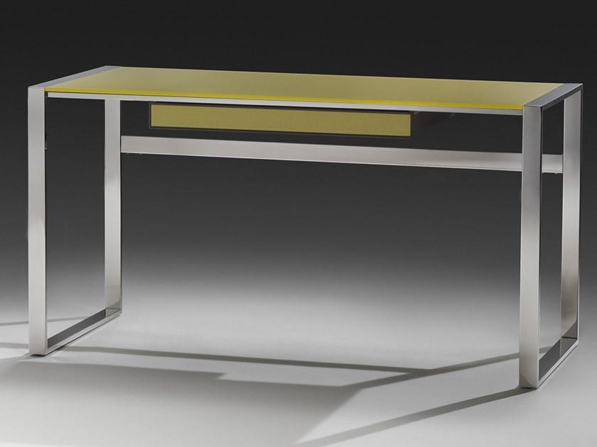 Desk Glass Writing Desk By F Lli Orsenigo Writing Desk With Drawers Writing Desk Desk With Drawers