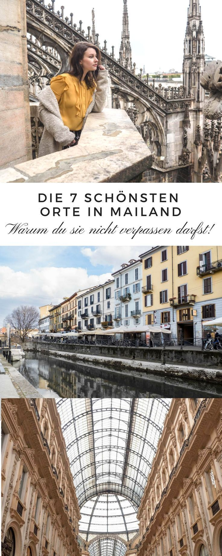 7 einzigartige Fotolocations & Must Sees in Mailand #beautifulplaces