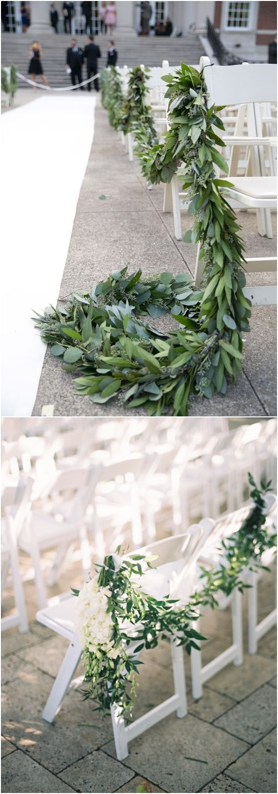 Decor ideas for wedding   Greenery Eucalyptus Wedding Decor Ideas  Green Weddings