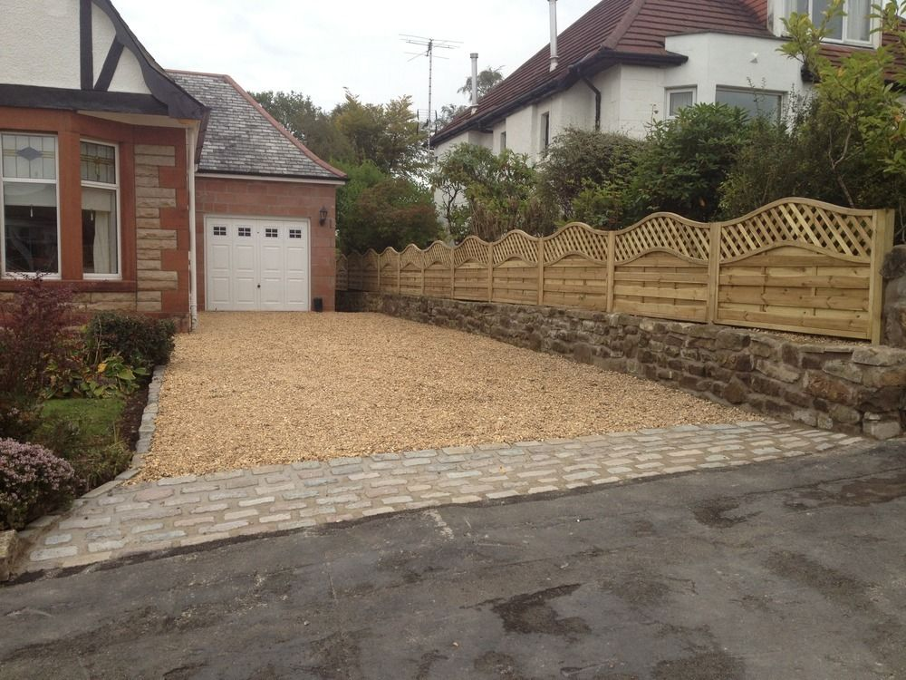 Garden Design Ideas Glasgow : Block paving and gravel driveway google search