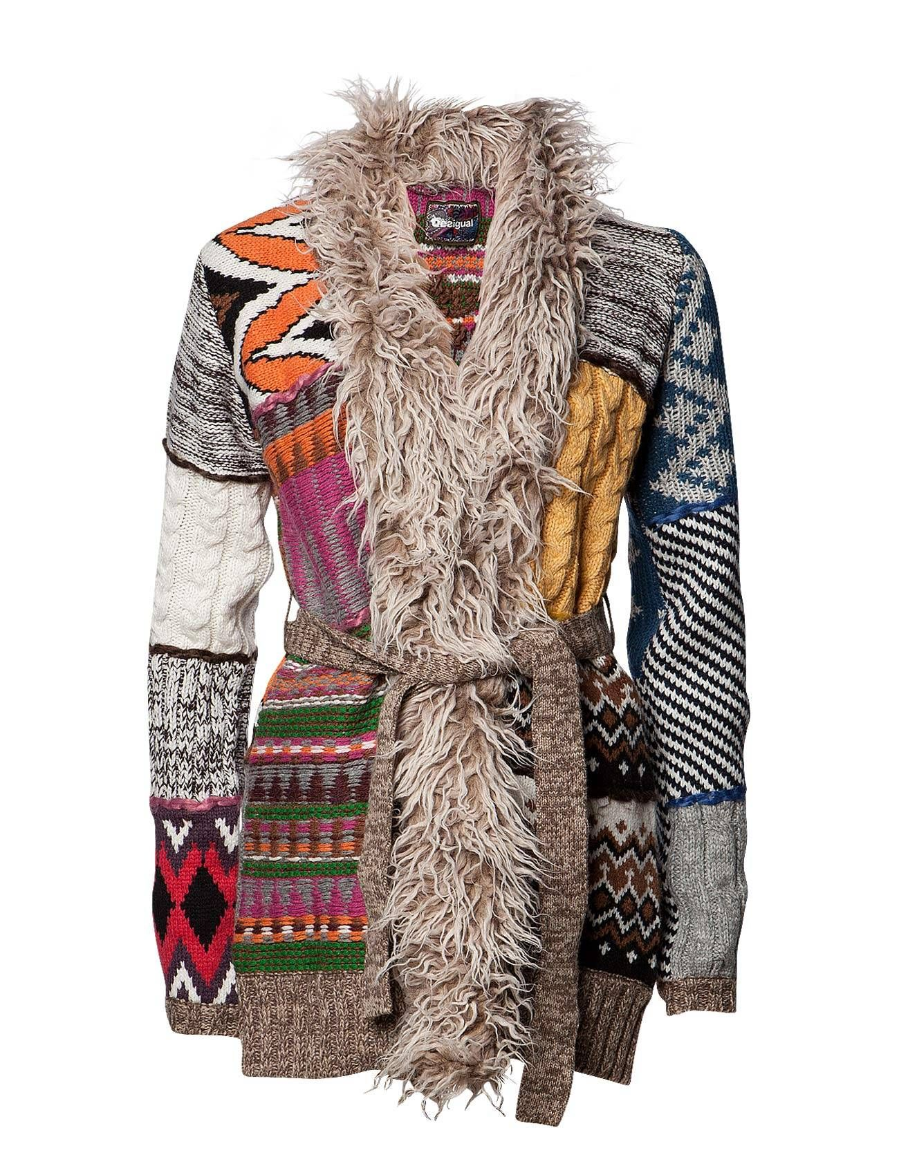 Desigual -idea for recycling old sweaters.
