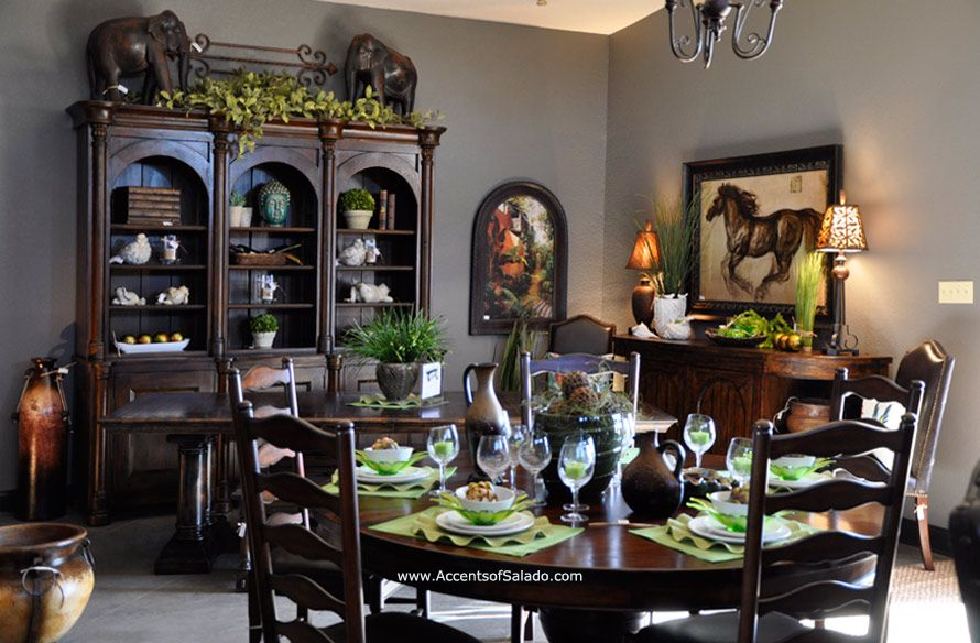 Tuscan Dining Room Furniture is our specialty We ship dining room