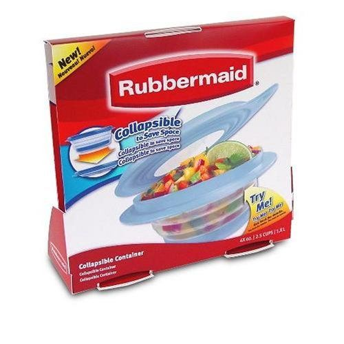 Rubbermaid FG7G1800MONST Collapsibles 2 12 Cup Food Storage
