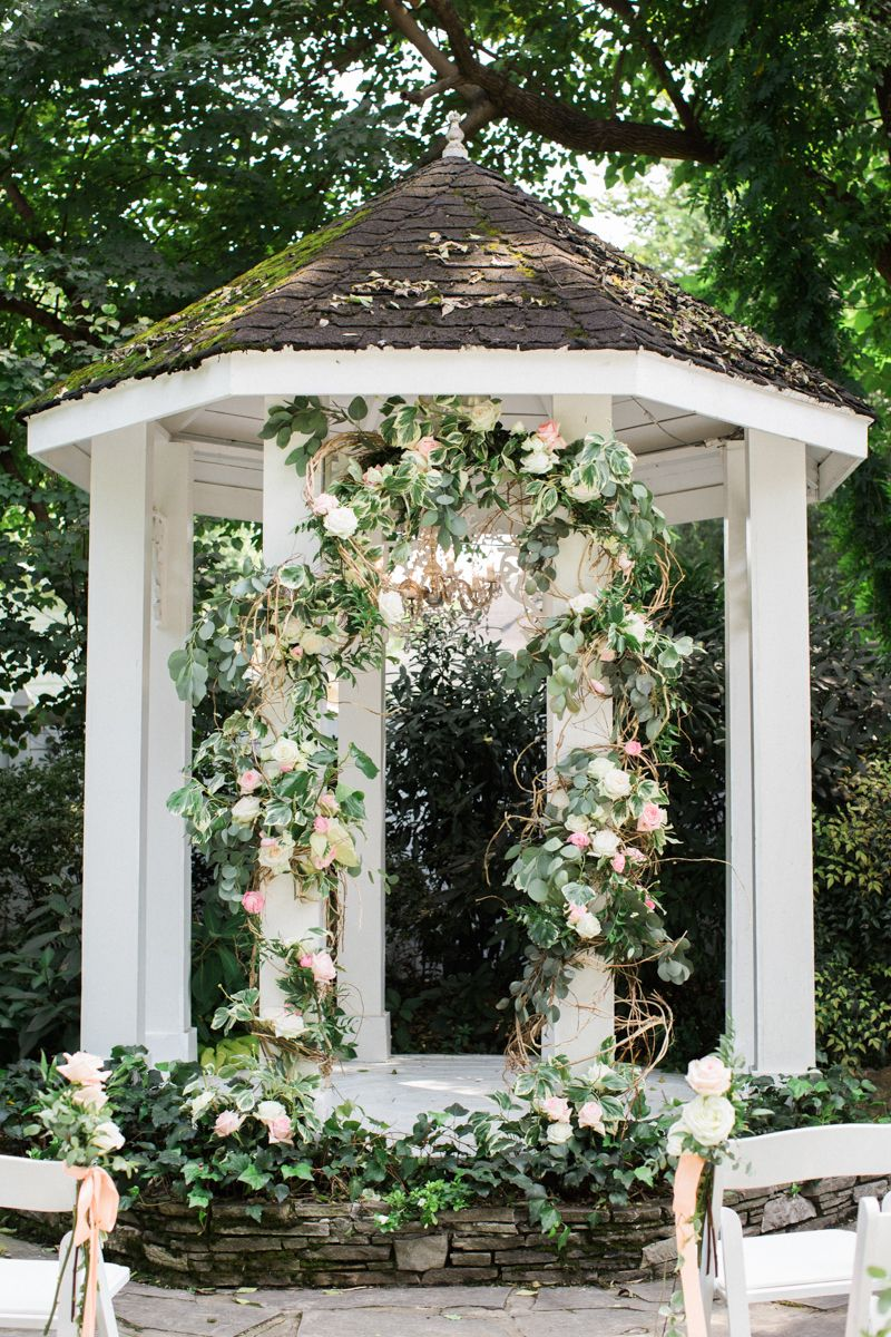 Gilded Summer Garden Wedding Summer Garden Wedding Garden