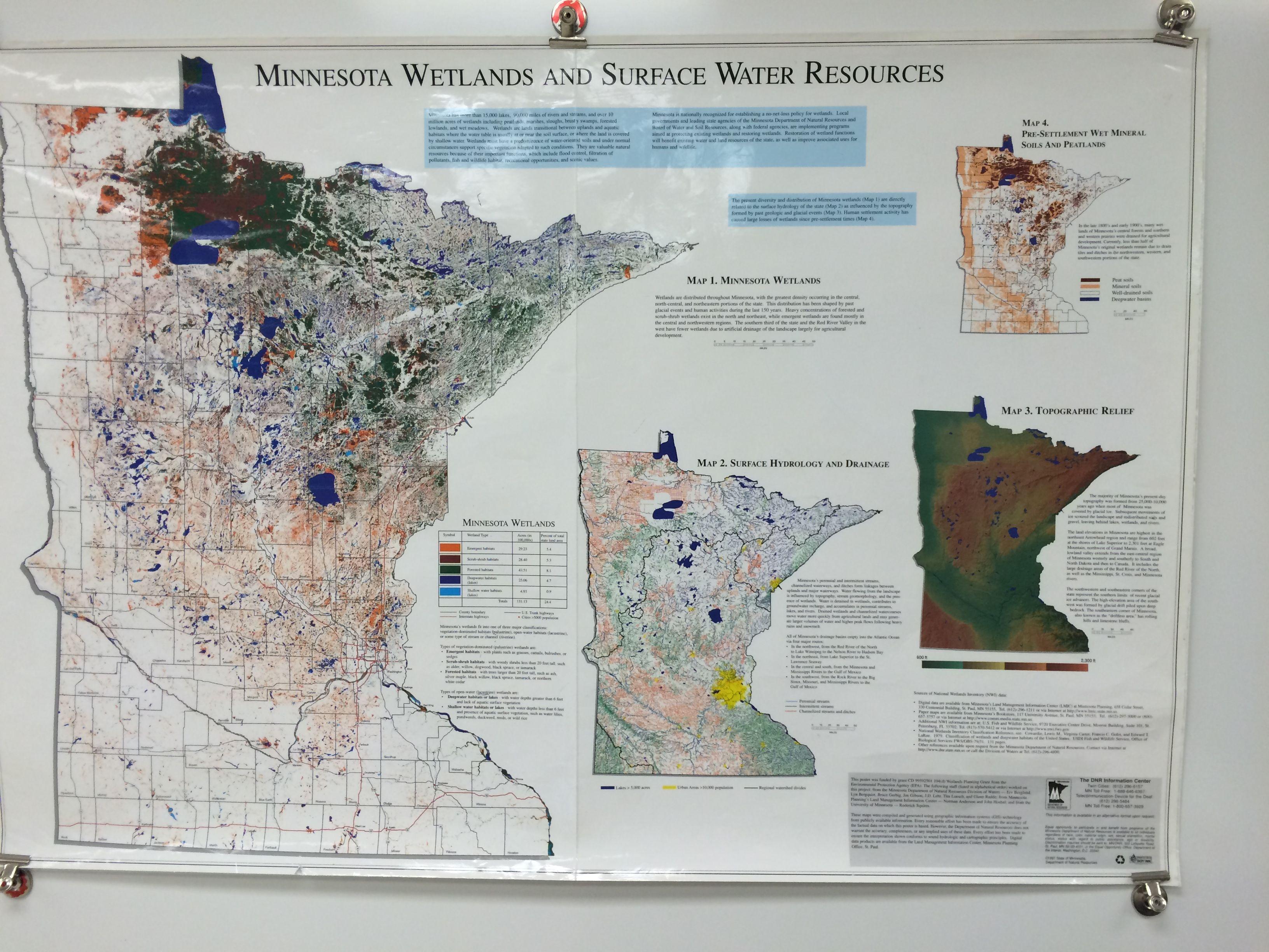 Minnesota Biomes Map