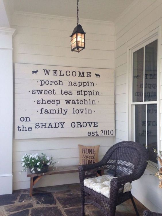 37 Modern Farmhouse Porch Decor Ideas