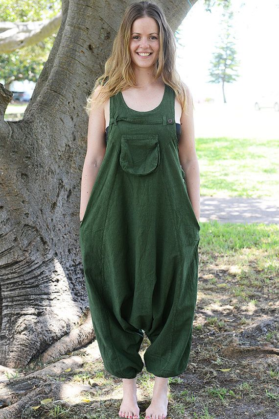 c1272377a0be9 Funky Unisex Overalls, Pure Cotton Overalls, Loose Fitting, Handmade ...