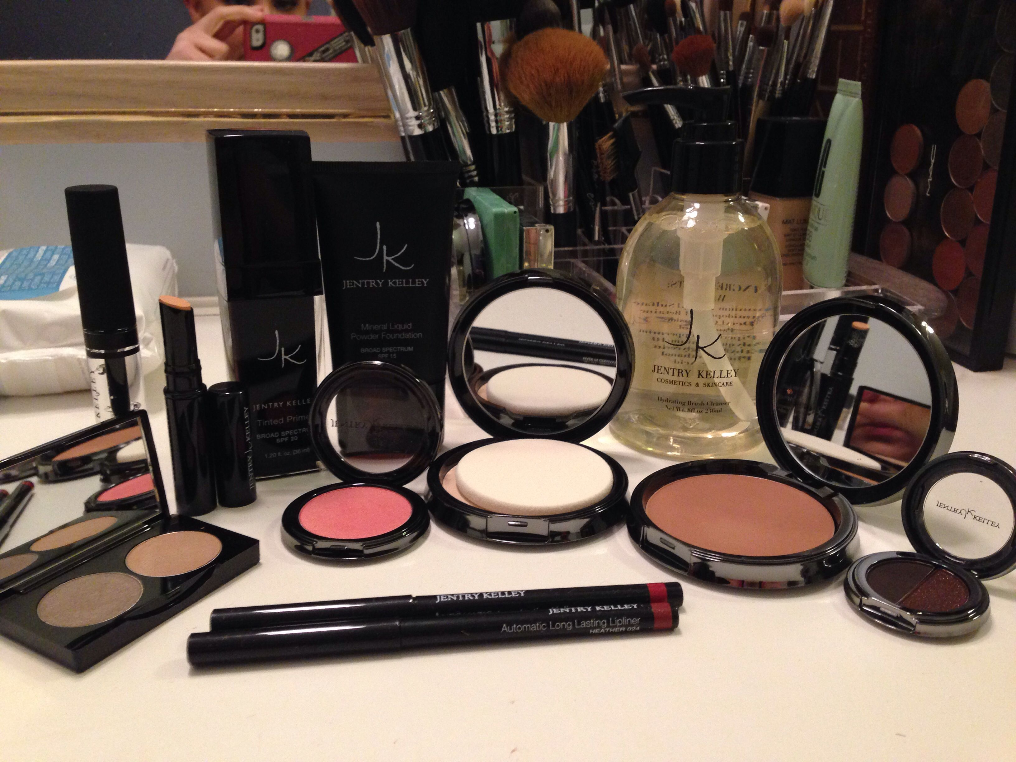 Amazing makeup line! New to me, but Jentry Kelley's makeup