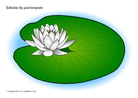 editable lily pad template sb8458 sparklebox put letters rh pinterest com lily pad clipart black and white lily pad clip art black and white