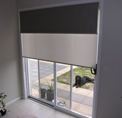 Double Coloured Blind Home Inspirations Pinterest
