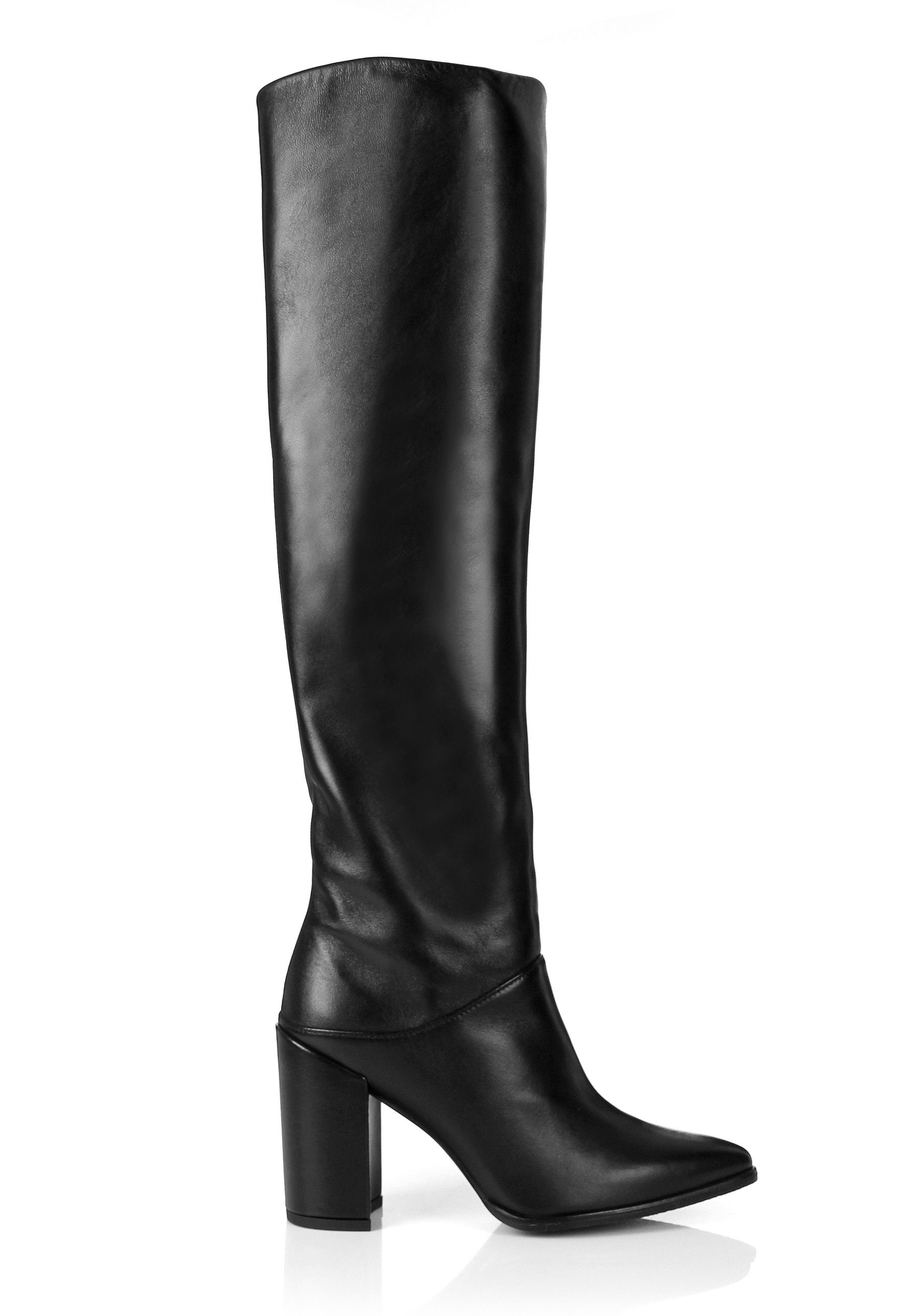 Stuart Weitzman Designer Shoes, Scrunchy Nappa High Heel Boot