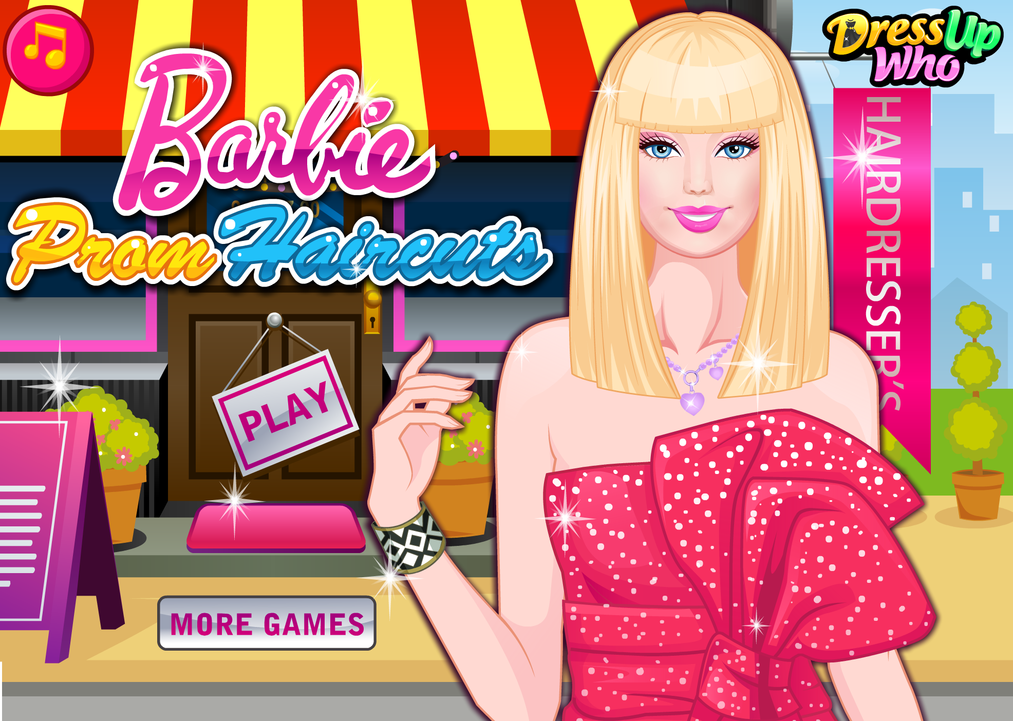 Hairstyles Games Barbie Prom Haircuts  Dress Up Games  Pinterest  Haircuts