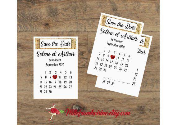 Save the Date, make hand calendar heart, Burlap, invitation, wedding, date book
