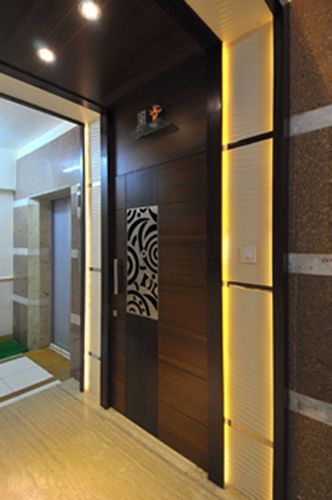 Architects india architects mumbai architects bombay for Main door design for flat
