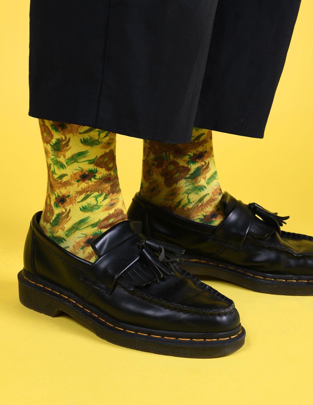 chaussures style docs martens vans gogh