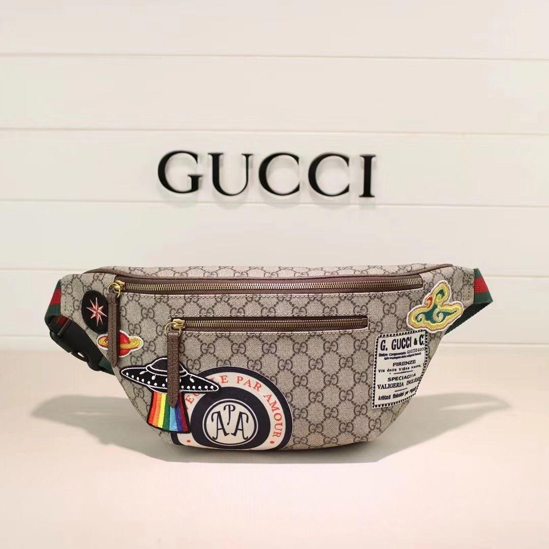 008f9a05a 26.Gucci-Courrier-GG-Supreme-Belt-Bag | Bolsos i 2019 | Carteras ...