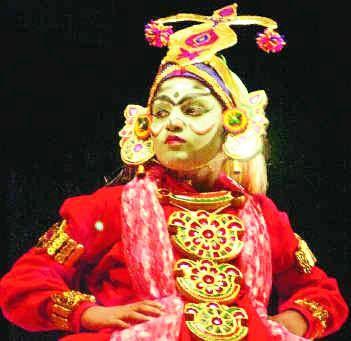 Therukoothu Theatre In Tamil Nadu Seni Pertunjukan Tari Klasik India