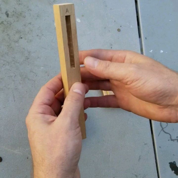 is one of the more complex mortise and tenon joints I have built. It is a very small table leg joint, which utilizes a shared mortise to get the most length possible from adjacent tenons. The adjacent tenons are finger jointed into each other, which is very strong and holds them square. . . . . .