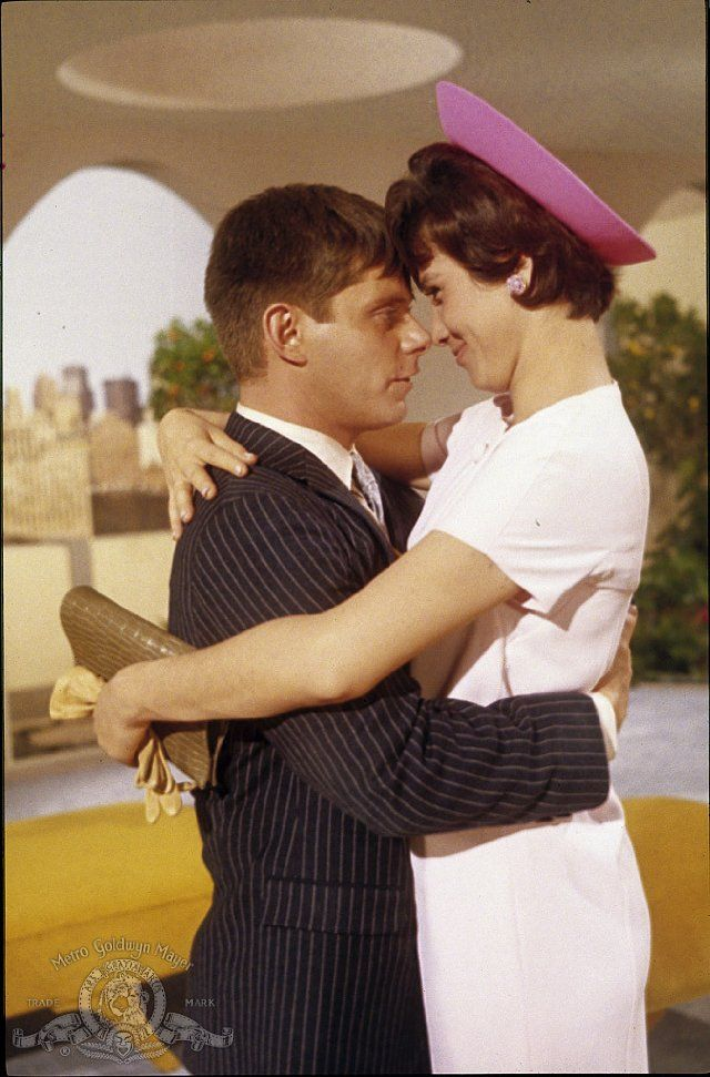 Michele Lee and Robert Morse in How to Succeed in Business Without Really Trying