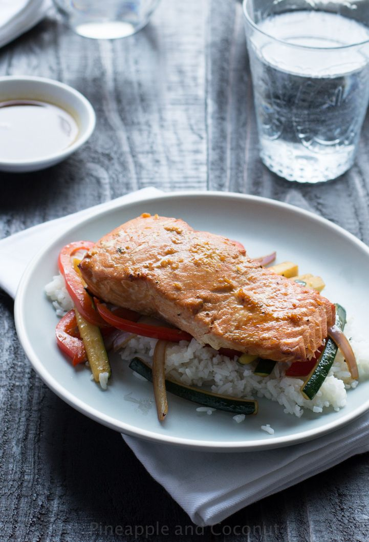 My husband is an amazing cook and I am featuring his recipes on my blog now starting with his awesome Orange Sesame Grilled Salmon. Super healthy and delicious