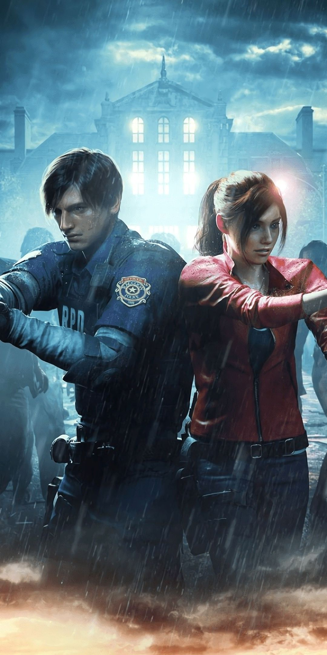 Resident Evil 2 2019 Game 1080x2160 Wallpaper With Images