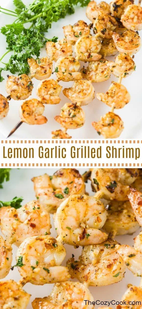 This simple lemon garlic marinade takes just minutes to throw together and gives you flavorful gril